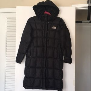 The north face down parka with removable hood 600